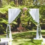 White Curtin Archway - Araluen