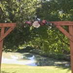 Rustic Arch with Native Florals
