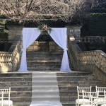 White Curtain Archway - Caversham